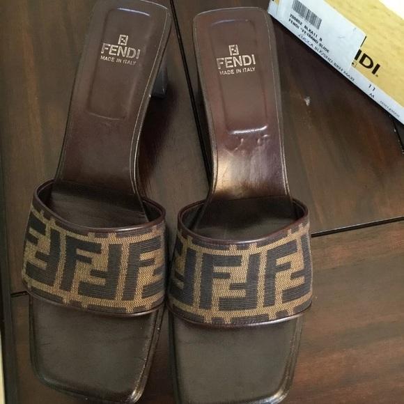 6be17bf3d Fendi Shoes | Authentic Slides | Poshmark